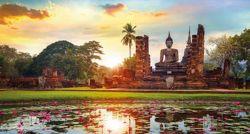 Wat Mahatat in Sukhothai National Park