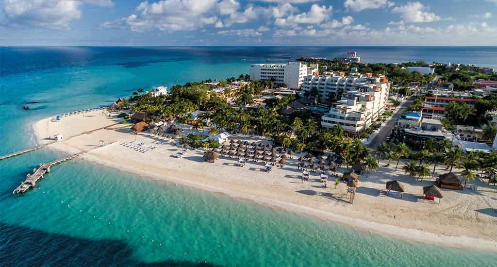 Isla Mujeres near Cancun Mexico