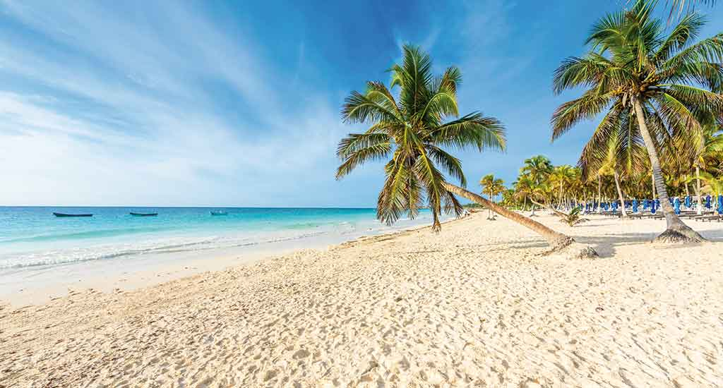 Paradise Beach in Tulum Mexico
